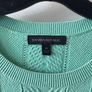 BR cotton herringbone sweater